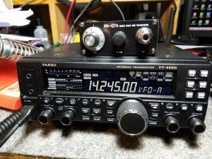 FT450 & KN-Q7A